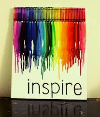 Crayon Art For Wall Take Off Wrapper Or Keep It On Also Could