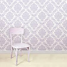 WallPopsR NuWallpaperTM Ariel Peel Stick Wallpaper In Purple