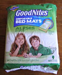 Goodnites Disposable Bed Mats by Nighttime Potty Training Huggieswalmart