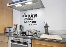 le bonheur dans la cuisine la cuisine est la base du réel bonheur nr stickers deco