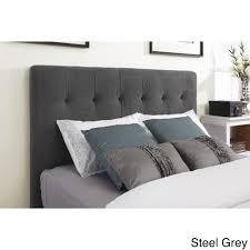 Skyline Grey Tufted Headboard by Concept Ideas For Grey Tufted Headboard Design 18954