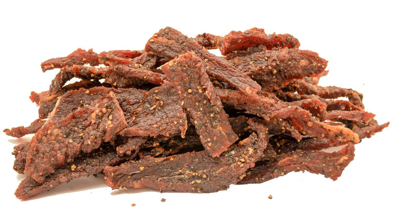 People's Choice Beef Jerky - Tasting Kitchen - Cowboy Peppered - Gourmet