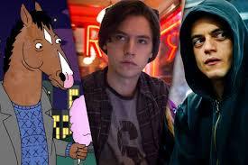 L R Bojack Horseman Riverdale Mr Robot Photo Netflix CW USA