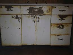 In Order To Refurbish The Cabinets They Must First Be Sandblasted Which I Am Currently Working On Next Will Primed And Painted We Plan