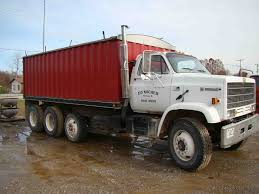 1989 Chevrolet Kodiak Tandem Grain Truck 299,371 Miles, W/ Air Tag ...