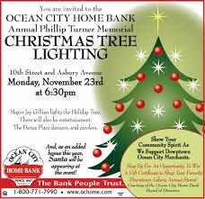 O C Home Bank Tree Lighting on Monday Evening