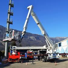100 Truck Mounted Boom Lift Construction Site Aerial Platform Outdoor Truckmounted BLIFT 510 HR CTE