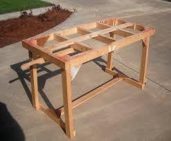 Portable Saw Buck Glue Bench Potting Table