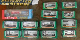 32 Hess Trucks And 1 Speedway Lot - All New In Box. Pickup Only ... Amazoncom Hess Truck Mini Miniature Lot Set 2003 2004 2005 911 Emergency Collection Jackies Toy Store 2017 Hess Mini Nib 7599 Pclick 2013 Toy Truck Review Youtube Childhoodreamer 1994 Rescue Video Review Com Hessomania By Canona2200 On Deviantart Parts Toy Trucks Collection 2018 New Fast Shipping 4395 1995 And Helicopter Products Pinterest