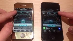 iPhone 4S 3G VS iPhone 5 4G LTE