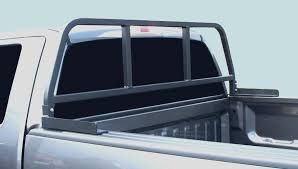 Diamond Plate Bed Rail Caps by Headache Racks For Trucks