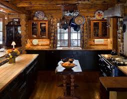 Simple Sweet Rustic Cabin Kitchen Decor