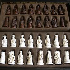 New Antique Chess Set Wooden Coffee Color Table Miniature Board Checker Move Box Retro Style Lifelike In Sets From Sports