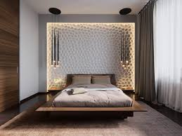 Headboard Lights For Reading by Cool Contemporary Small Bedroom Design Ideas And Honey Comb