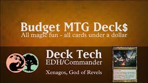 Oloro Commander Deck Ideas by Budget Xenagos God Of Revels Edh Commander Fatties Youtube
