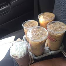 Large Pumpkin Iced Coffee Dunkin Donuts by Is The Dunkin U0027 Donuts Maple Pecan Flavor Good Popsugar Food