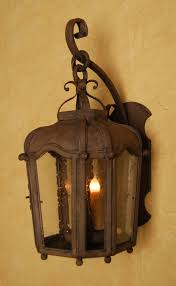 Wrought Iron Outdoor Lantern Perfect For A Spanish Style Home Hacienda Rustic