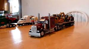 Toy Trucks: Big Toy Trucks With Trailers Truck Trailer Toy First Gear Peterbilt 351 Day Cab With Dual Dump Trailers Farmer Farm Tractor And Kids Set Onle4bargains 164 Scale Model Truckisuzu Metal Diecast Trucks Semi Hauler Kenworth And Mack Unboxing Big 116 367 W Lowboy By Horse Hay Biguntryfarmtoyscom Bayer Equipment Custom Bodies Boxes Beds Amazoncom Daron Ups Die Cast 2 Toys Games A Camping Pickup