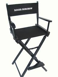 Professional Tall Folding Directors Chair by Personalized Chairs