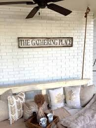 Rustic The Gathering Place Sign