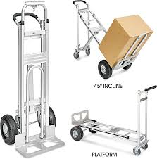 3-In-1 Hand Truck In Stock - ULINE Dollies Hand Trucks Walmartcom Complete Bp Manufacturing Vestil Convertible Pvi Products Collapsible Alinum At Ace Hdware R Us Cosco 3 Position Truck Supplier Magliner Twowheel Straight Back Hmac16g2e5c Bh Sydney Trolleys Folding Shop Lowescom Heavy Duty Buy Product On Alibacom