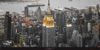 poster photo manhattan new york usa philip plisson