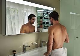 badezimmerspiegel und spiegelschrank stahl sanitär