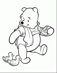 Good Winnie The Pooh Coloring Pages To Print With And