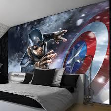 Captain America Wallpaper Rooms Avengers Room Marvel