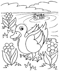 Trendy Idea Duck Coloring Pages