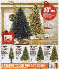 Home Depot Pre Lit Christmas Trees by Home Depot Black Friday Ads Sales Deals Doorbusters 2016 2017