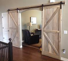 Barn Doors — Rustic Custom Designs Bifold Barn Door Hdware Sliding For Your Doors Asusparapc Town Country Unassembled Kit Kh Series Bottomx In Full Size Beetle Kill Pine The Pink Moose Idolza 101 Best Images On Pinterest Children Doors And Reclaimed Oak Pabst Blue Ribbon Factory Floor Bypass Features Post Beam Carriage Barns Yard Great Shop Reliabilt Solid Core Soft Close Interior With Dallas Tx Installation Rustic Z Wood Knotty Intertional Company Steves Sons 24 X 84 Modern Lite Rain Glass Stained