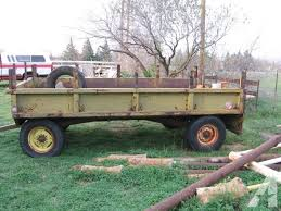 Farm Trailer Made Out Of Old Military Truck Bed