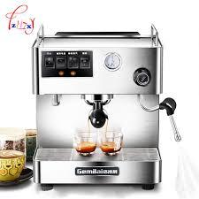 Semi Automatic Coffee Machine Espresso Maker For Commercial Office CRM3012 1pc