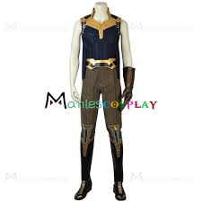 Thanos Costume The Avengers Cosplay Costume