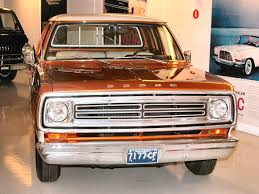 1973 Dodge Pickup - Information And Photos - MOMENTcar