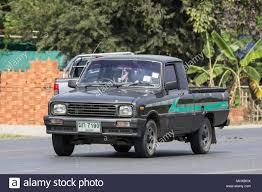 100 Mazda Mini Truck CHIANG MAI THAILAND APRIL 8 2018 Private Car Family Mini
