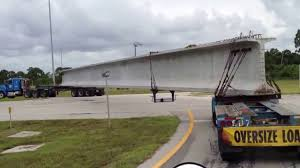 Oversize Bridge Beam - YouTube