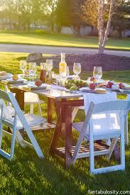 Pop Up Backyard Dinner Party