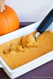 Pumpkin Puree Vs Easy Pumpkin Pie Mix by Clean Eating Pumpkin Ice Cream Recipe The Gracious Pantry