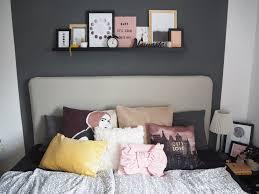interior perfekte farben im schlafzimmer rosé gelb