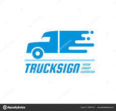 100 Truck Sign Vector Business Logo Template Abstract Car Silhouette