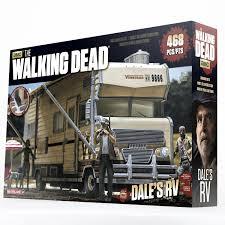 100 Action Truck Estartek Original McFarlane Walking Dead DELES RV Block Toys