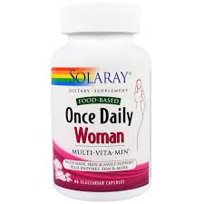 Solaray ce Daily Woman Multi Vita Min 90 Veggie Caps iHerb
