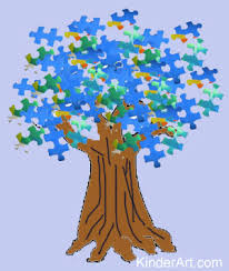 Puzzle Piece Trees Lesson Plan Recycling For Kids