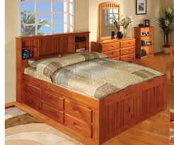 ridgeline full size bookcase captains bed bed frames discovery