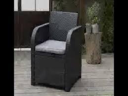 Keter Rattan Lounge Chairs by 199 95 Keter Allibert Carolina Outdoor 4 Seater Rattan Lounge