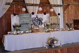 Rustic Ideas Old Doors Used As Wedding Backdrop Also Love The Ladder Hanging