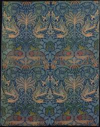 Designed By William Morris Panel Entitled Peacock And Dragon Google Art Project ColorTweak5