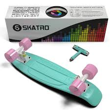 Skatro - Mini Cruiser Skateboard. 22x6inch Retro Style Plastic ... Skateboard Trucks Manchesters Premier Shop Note Amazoncom Premium Allinone Skate Tool By The Blank Ultimate Beginners Guide To Loboarding Board Penny Truck Snap Youtube Ridge Skateboards 27 Inch Big Brother Retro Cruiser How To Tighten Or Loosen Up Your Trucks Longboard Truck Maintenance Ifixit Osprey Complete Carver 29 Inch Amazoncouk Sports Loosen Your On A Skateboard Caliber Co 9inch Set Of 2 What Are The Health Benefits Livestrongcom Clean Wheels 11 Steps With Pictures Wikihow